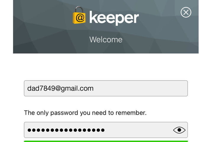 Gestionnaire de mots de passe Keeper